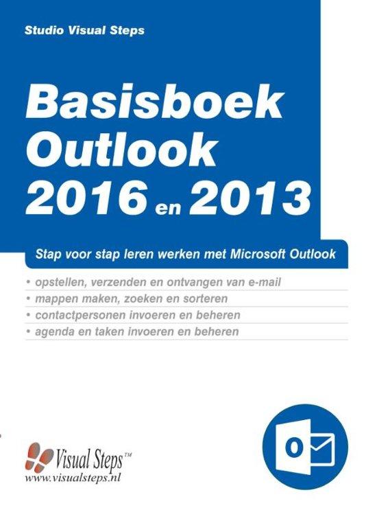 Basisboek Outlook 2016 en 2013