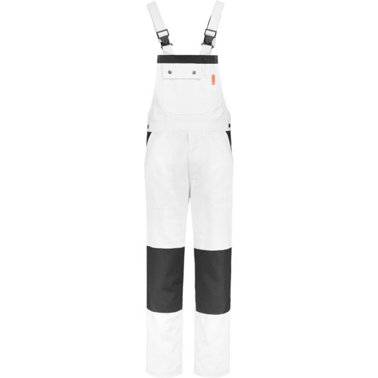 Workman Luxury Overall 1006 wit / navy - Maat 47