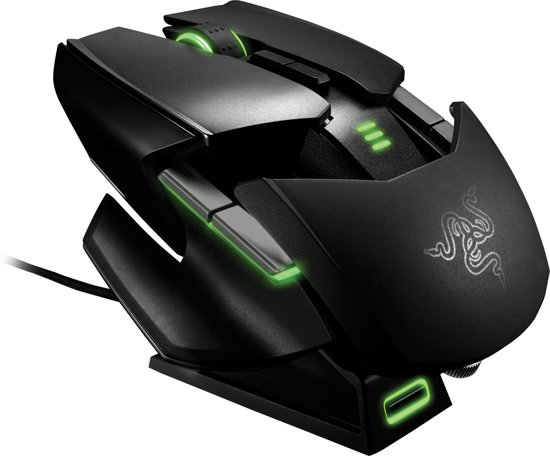 Razer Ouroboros - Gaming Muis - 8200 DPI - PC + MAC