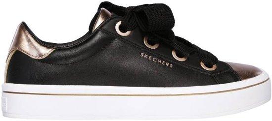 e8f5bce8fde7 Skechers Hi-Lites Medal Toes Sneakers Dames - Black Rose Gold