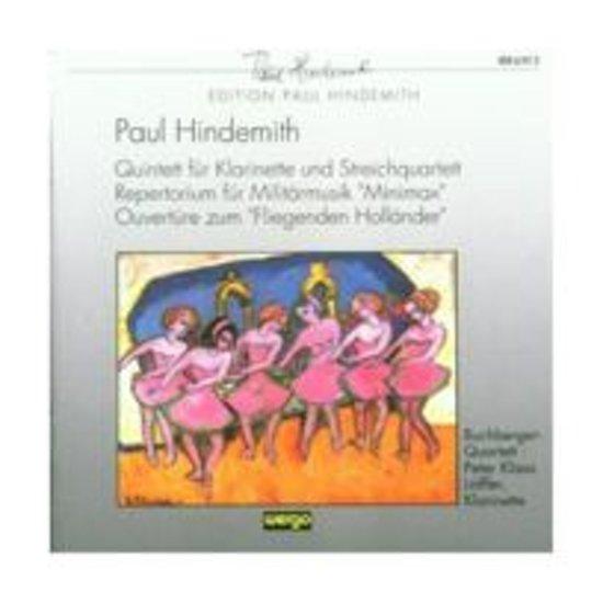 Hindemith: Clarinet Quintet, Minimax, etc / Loffler