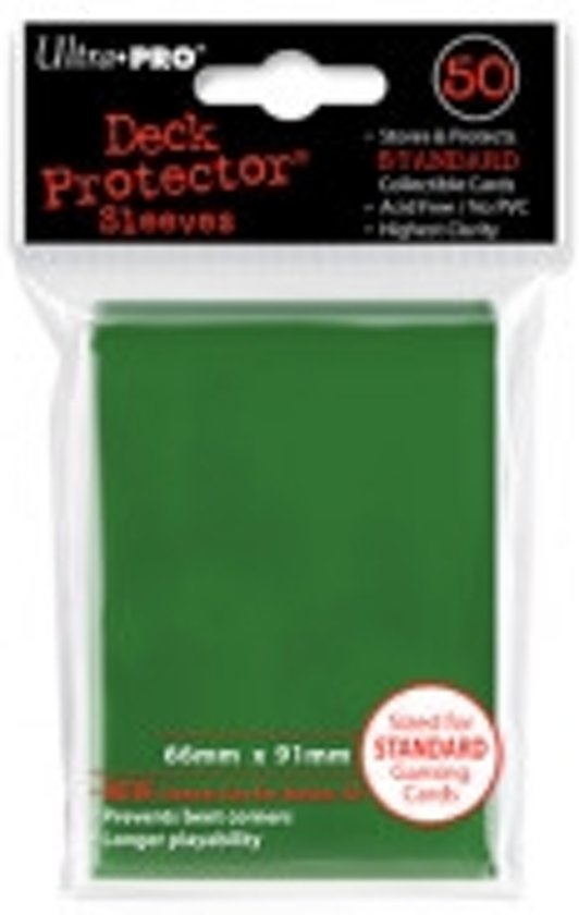 Afbeelding van het spel Standaard Deck Protector Sleeves Dark Green (50st.)