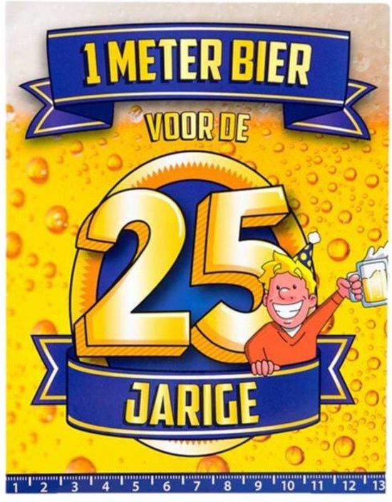 Nieuw bol.com | Paperdreams - 1 Meter bier kaart - 25 Jaar IW-48