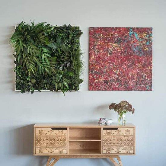 Verticale tuin - Jungle - 80 x 80cm