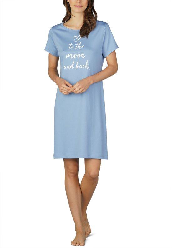 d788da9b46d bol.com | Mey Nachthemd Shelly Dames 11038 - 46 - Blauw