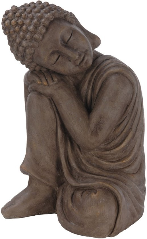Boeddha Beeld Beton.Boeddha Beeld Hurkend 44 Cm Boeddha Tuinbeeld Hurkend 44 Cm