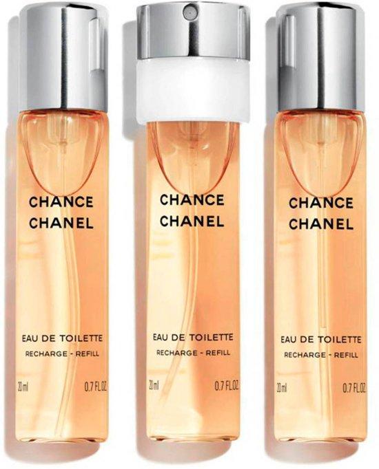 Chanel Chance for Women Navulbare Parfums - 3 delig - Geschenkset