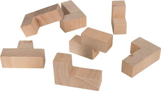 Denkpuzzels, set van 4 stuks