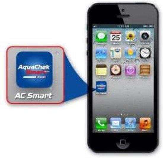 Test & Treat Aquacheck aanbeveler met één klik via de app