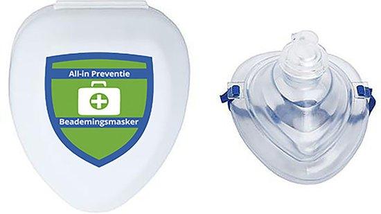 Beademingsmasker - Pocket Mask in Hardcase