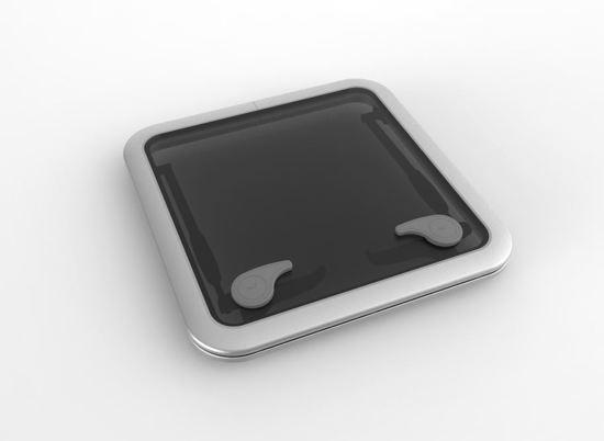 Goïot aluminium Dekluik OPAL 40 475 x 475 mm
