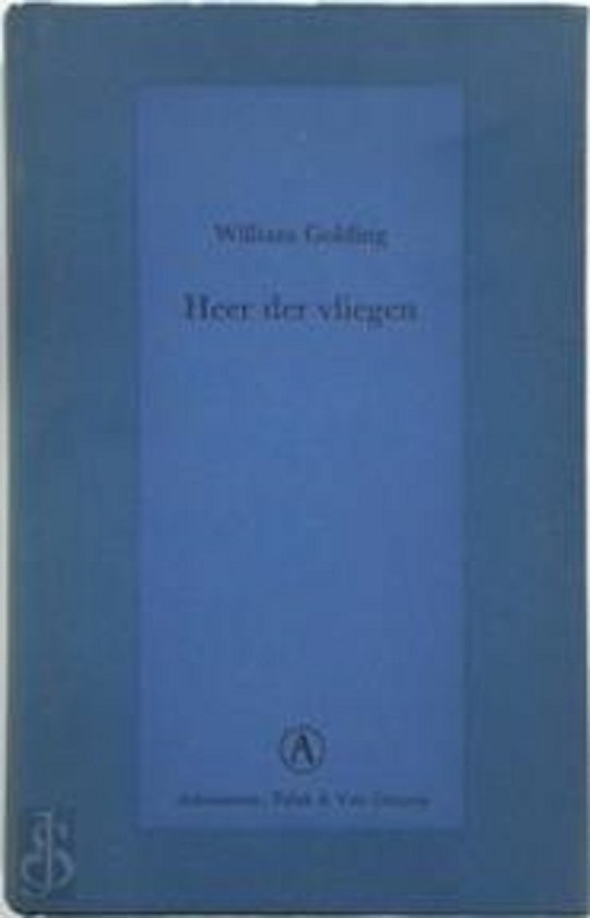 Boek cover Heer der vliegen van William Golding (Hardcover)