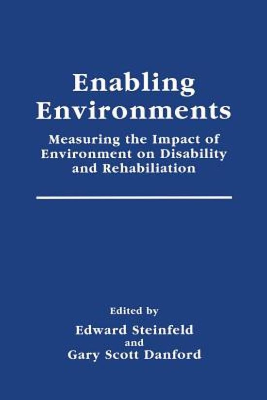 Enabling Environments