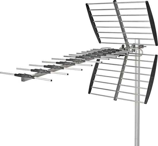 Outdoor TV Antenna | Max. 14 dB Gain | UHF: 470 - 790 MHz