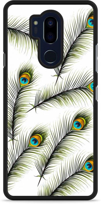 LG G7 Hardcase Hoesje Peacock Feathers
