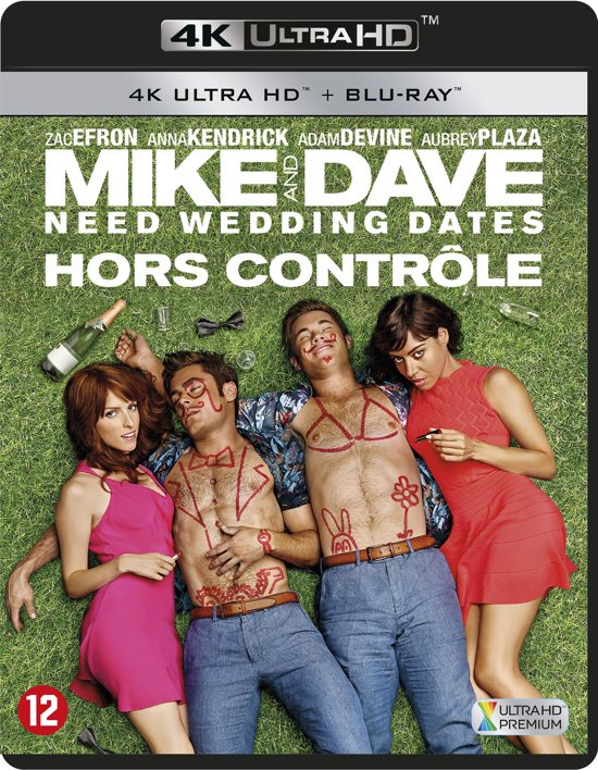Mike And Dave Need Wedding Dates (4K Ultra HD Blu-ray)