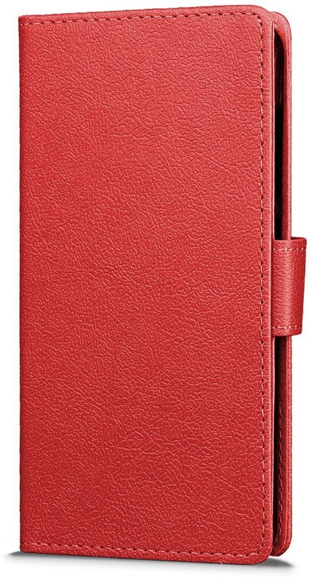 Sony Xperia X Compact hoesje - Book Wallet Case - Rood
