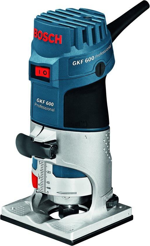 Bosch Professional GKF 600 Kantenfrees - 600 Watt - Met opbergkoffer