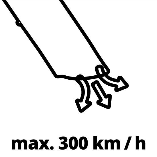 Einhell GC-EL 3000 E Bladblazer/-Zuiger