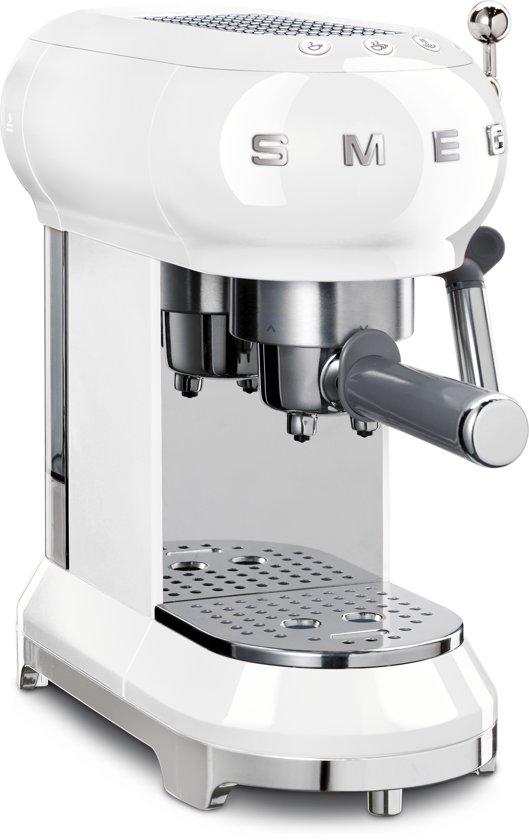 Smeg ECF01WHEU Halfautomatische Espressomachine