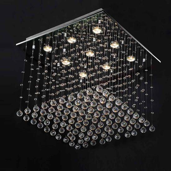 Onwijs bol.com | Kroonluchter 60x60 cm, plafondlamp, hanglamp, lamp AS-19