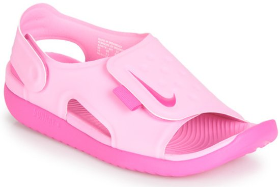 a64d4dfc113c Nike Sunray Adjust 5 (Gs Ps) Sneakers Kinderen - Roze- Maat 36