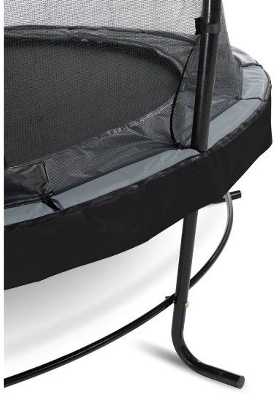 EXIT Elegant Premium trampoline ø305cm met veiligheidsnet Economy - zwart
