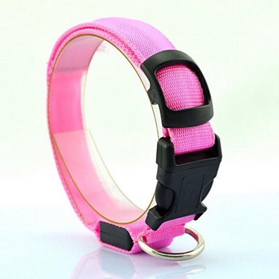 bol.com   hondenhalsband led verlichting large Roze
