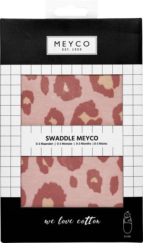 SwaddleMeyco Inbakerdoek - 0-3 maanden - Panter