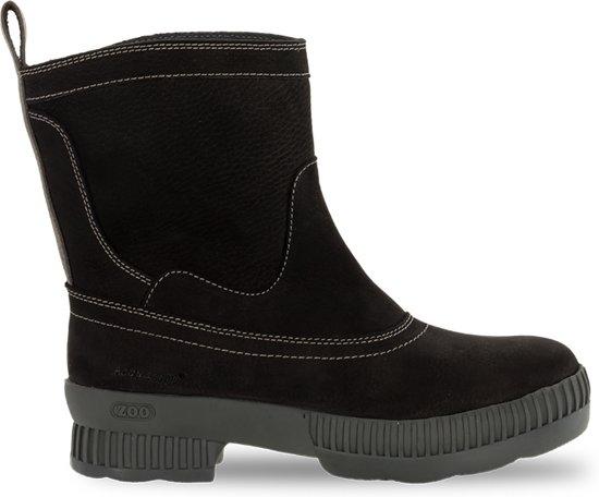Outdoor laarzen ZOO Dames –Zwart – 100% Waterdicht & Leer – Brechje 36