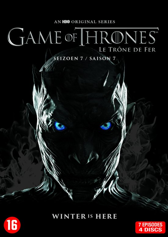 DVD cover van Game Of Thrones - Seizoen 7