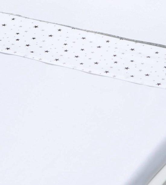 Briljant Baby wieglaken katoen dessin Don - roze - 75x100 cm