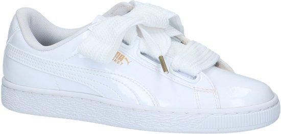 Wit Patent Heart Puma Dames Basket 41 Sneakers Maat TtRTXqxI