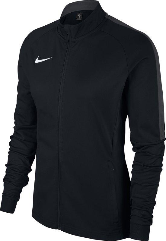 Nike Dry Academy 18 Trainingsjas Maat L Vrouwen zwart donker grijs