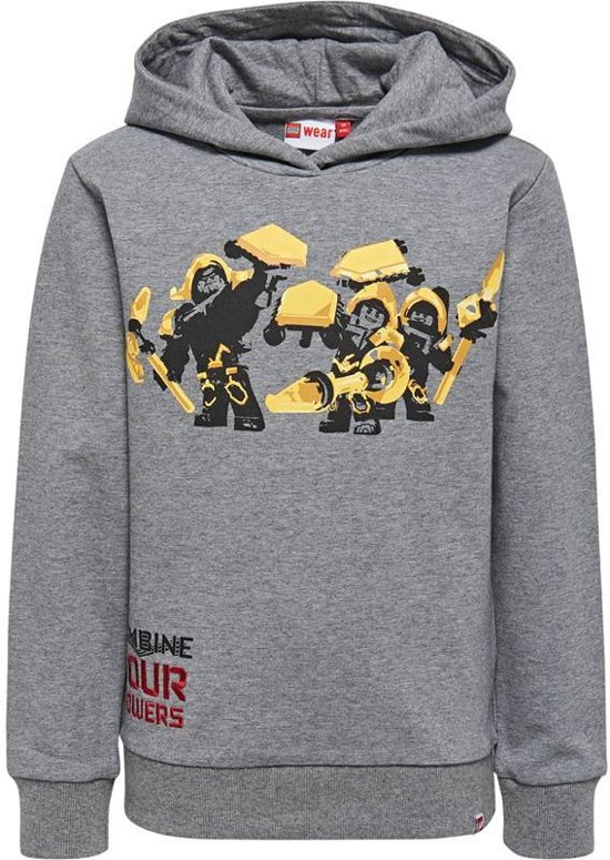 2dcccb2455f bol.com | Legowear jongens sweater Nexo Knights Combine your power ...