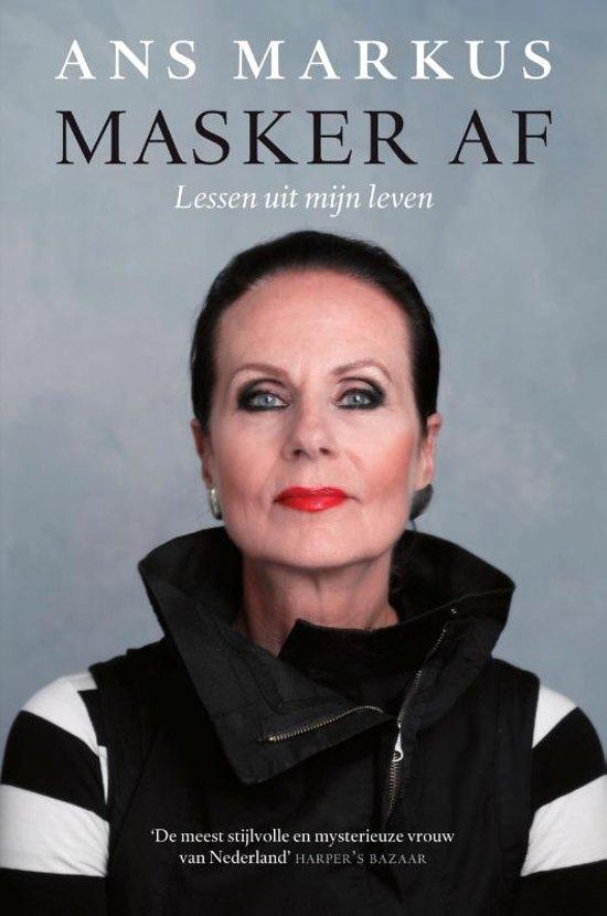 Boek cover Masker af van Ans Markus (Hardcover)