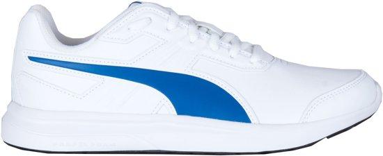 9bce12ef741 bol.com   Puma Sneakers - Maat 38 - Unisex - wit/blauw