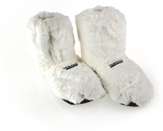MikaMax - Hot Boots - Magnetron Sloffen - Wit