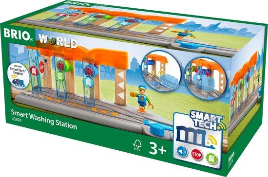 BRIO SMART Treinwasstraat - 33874