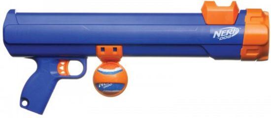 Nerf Tennisball Blaster- Apporteerspeelgoed - L - Blauw - 50 cm
