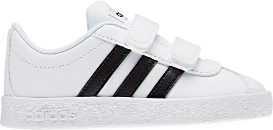 69e50811728 bol.com | adidas VL Court 2.0 CMF Sneakers - Maat 25 - Unisex - wit ...