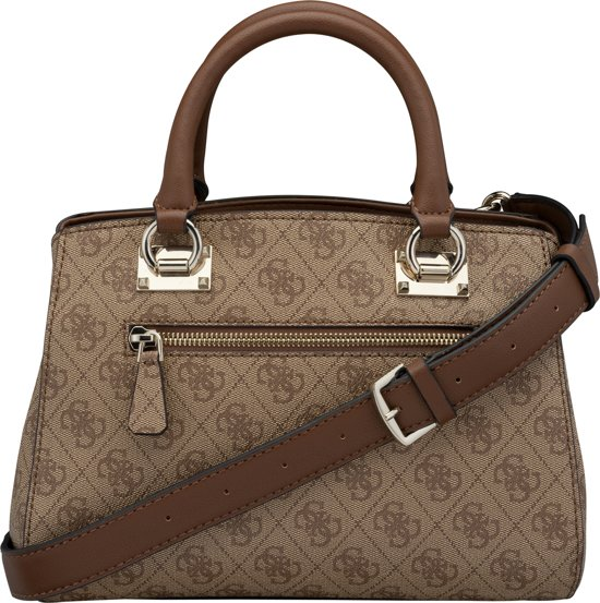 Guess Dames Girlfriend Brown Handtas Kathryn v1qRwa7