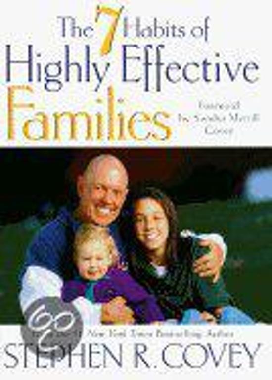Afbeelding van The Seven Habits of Highly Effective Families