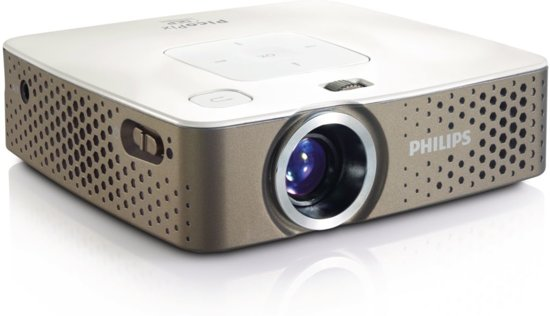 philips picopix 3414 mini beamer projector wvga 100 ansi lumen wit. Black Bedroom Furniture Sets. Home Design Ideas
