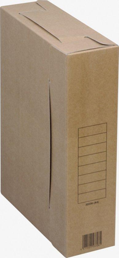 Archiefdoos karton 650grs A4 32x23x8cm