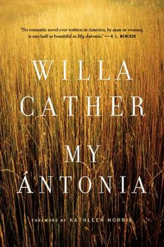 dark overtones and their contrasts in my antonia by willa cather