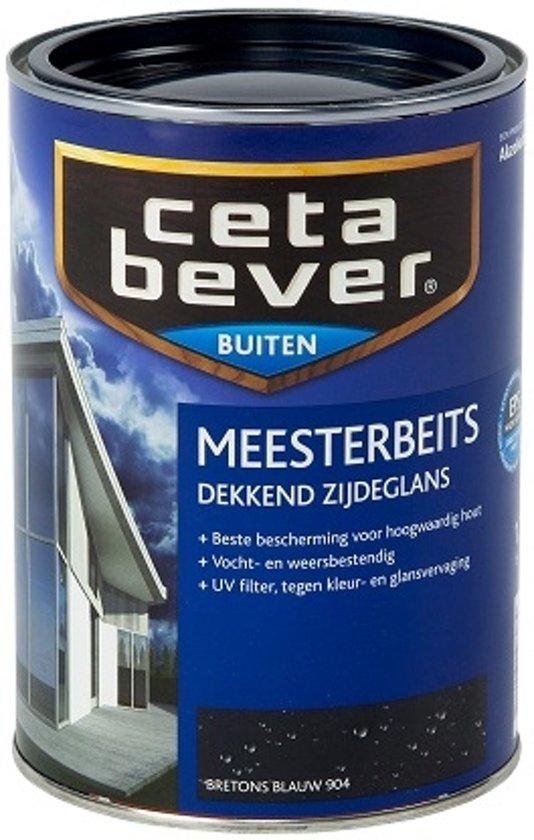 Cetabever Dekkende Meesterbeits - 1,25 liter - Bretons Blauw