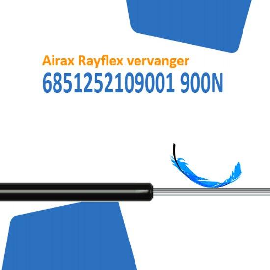 Vervanger voor Airax Rayflex 6851252109001 900N gasveer