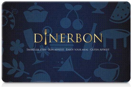 Dinerbon Giftcard - Cadeaukaart Restaurants - 100 euro
