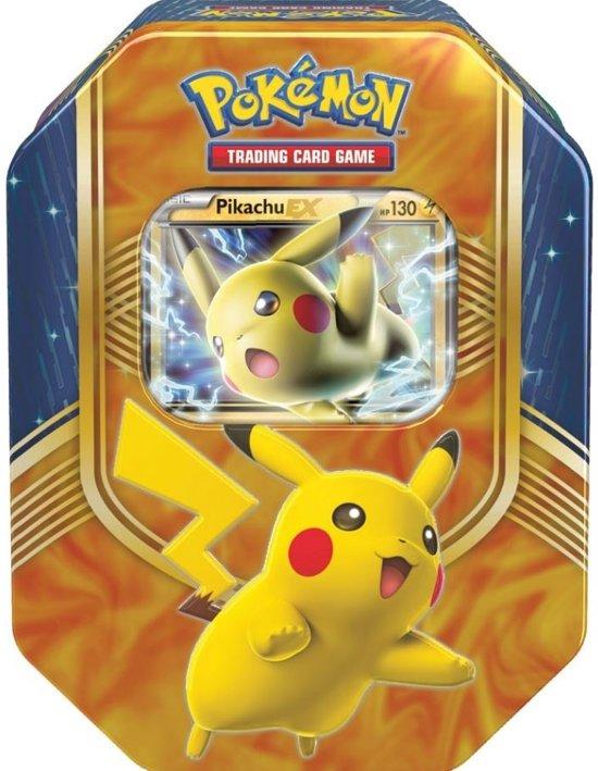 Afbeelding van het spel Pokemon TCG Fall Tin Battle Heart Pikachu-EX
